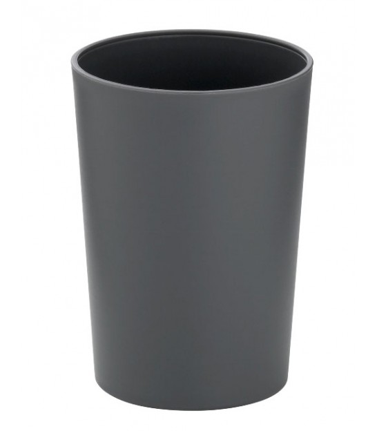Bathroom Tumbler Silver Ceramic