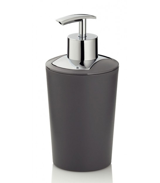 Soap Holder Plastic Grey and Silver