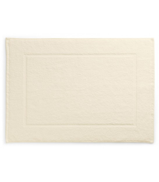Bath Mat 100% Cotton Beige - 50x70cm