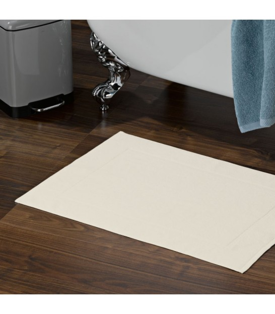 Bath Mat 100% Cotton Grey - 50x70cm