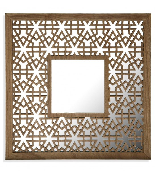 Wall Mirror MDF Oriental - set of 3