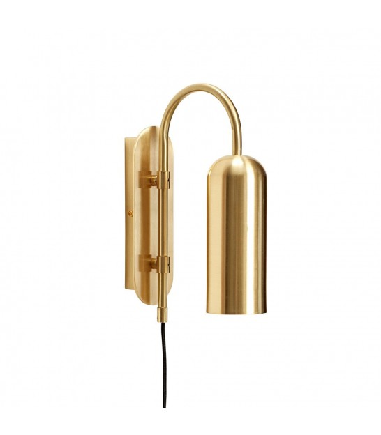 Wall Lamp Gold Vintage, Brass