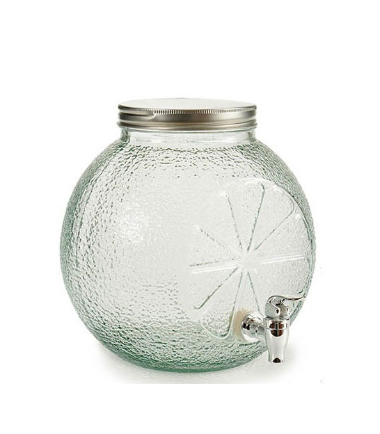 Glass Drink Dispenser Pineapple - 5L