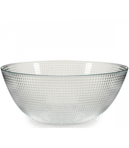 Bowl on Stand Cristal Lead Free- diameter 23cm