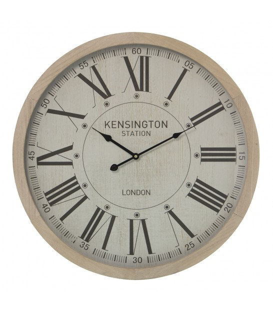Round Clock Kensington Station - 60cm
