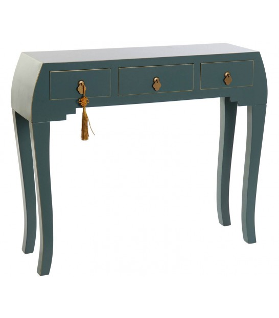 Entrance Console Table Oriental Blue