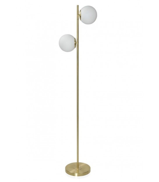 Floor Lamp Gold Metal
