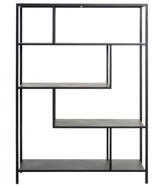 Shelf Black Metal - Height 90cm