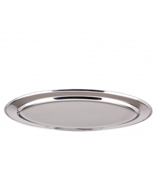 Serving Plate Inox Oval