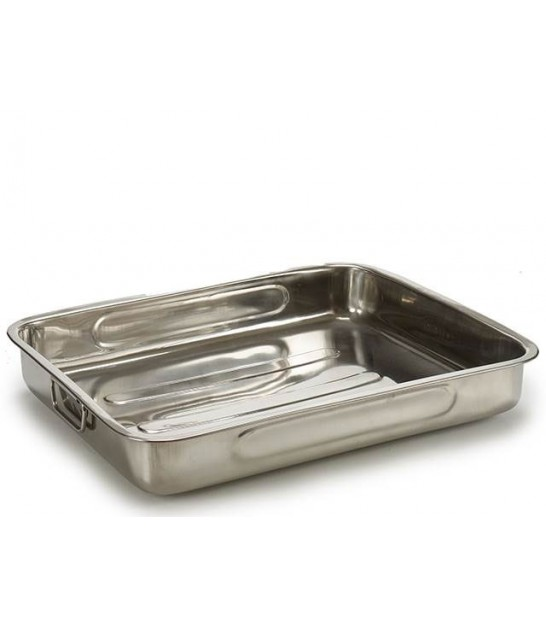 Stainless Steel Oven Dish - 45cm