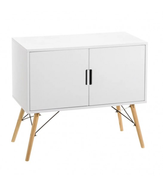 Buffet 2 Doors Wood White