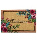 Coco Doormat Welcome Flowers - 60x40x1.5cm