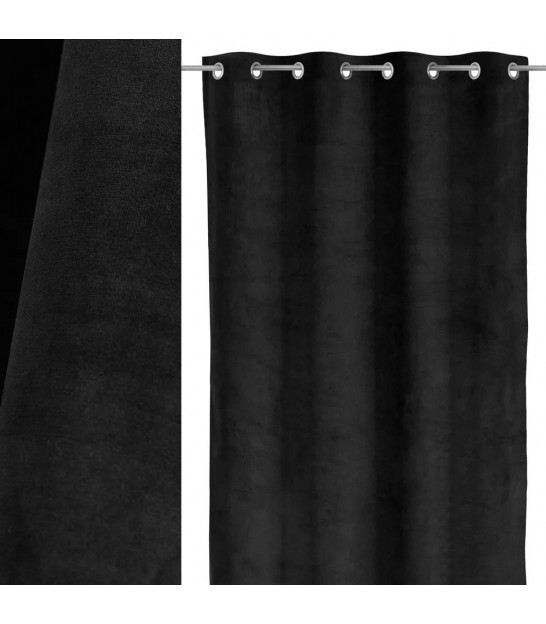 Blackout Curtain Green - Length 260cm