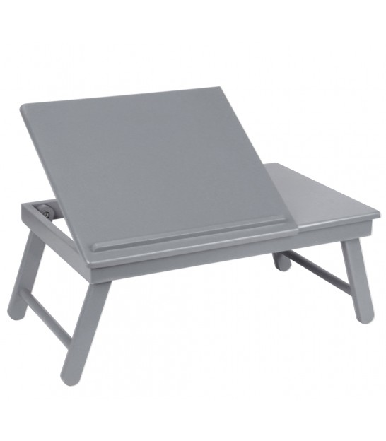 Wood Grey Bed Tray