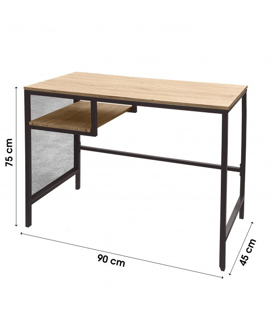 Dining Table Wood and Metal