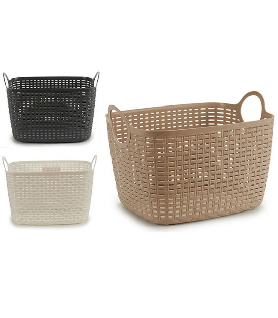 Willow Basket Natural - Length 44cm