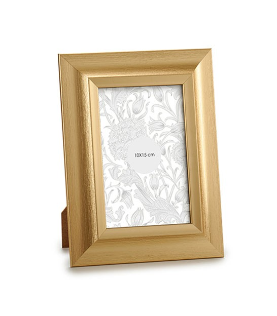 Photo Frame Gold Aluminium - 10x15cm