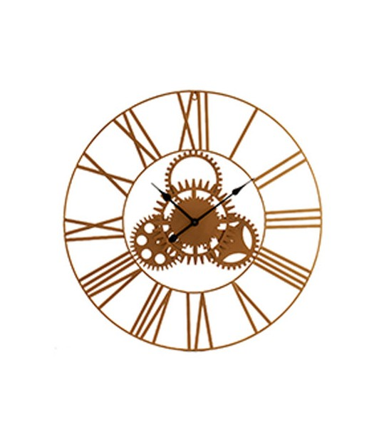 Wall Clock Black Metal - 60cm