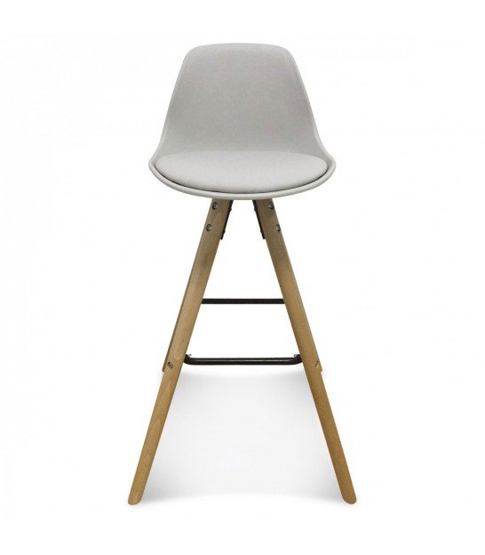 Swivel Bar Stool White