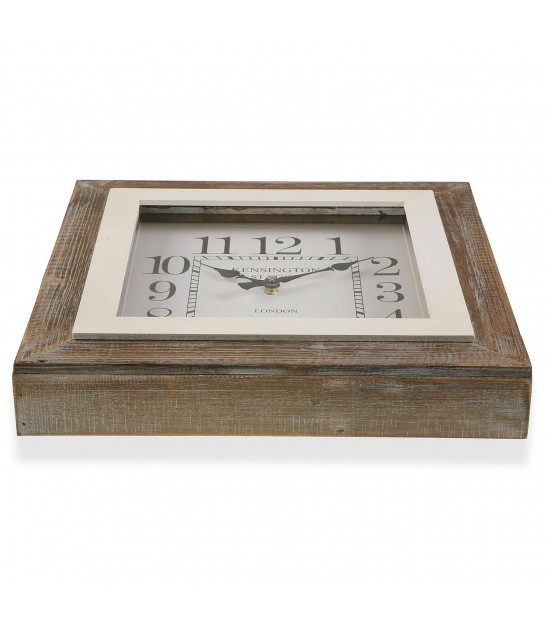 OVale Wall Clock with Thermometer and Hygrometer Gold