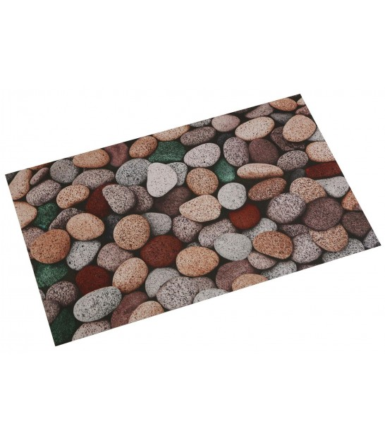 Kitchen Carpet Muticolore Pebbles - 80x50cm
