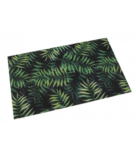 Tapis de Cuisine Multicolore Motif Jungle - 80x50cm