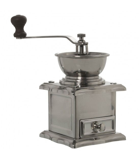 Manual Coffee Grinder Steel and Wood