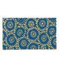 Doormat Coco Blue Flowers