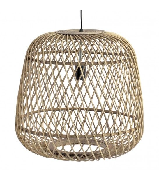 Bamboo Ceiling Lamp Oval