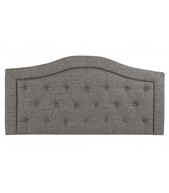 Headboards Padded Beige Polyester - 160cm