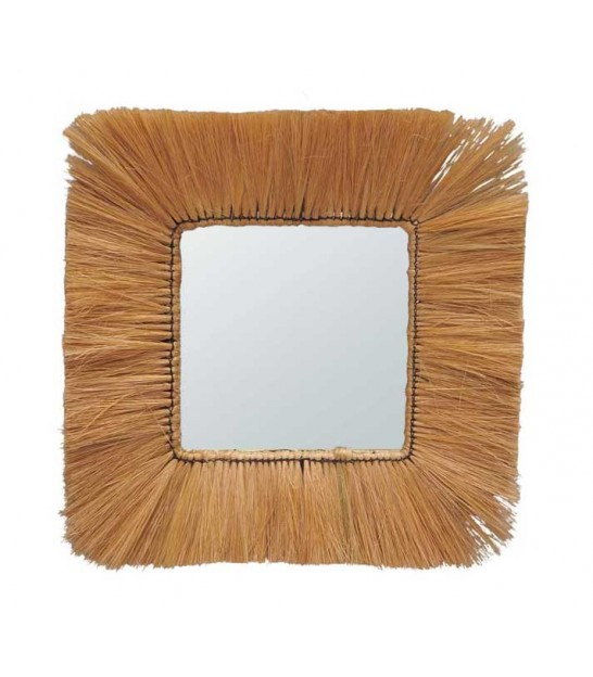 Round Mirror Exotic Fibers - 62cm