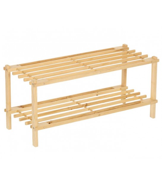 Shoe Rack Pinewood