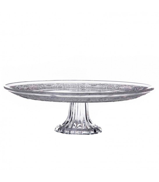 Glass Cake Stand 30cm Diameter