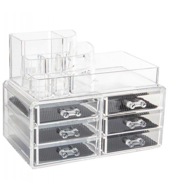 Clear Cosmetics Organiser