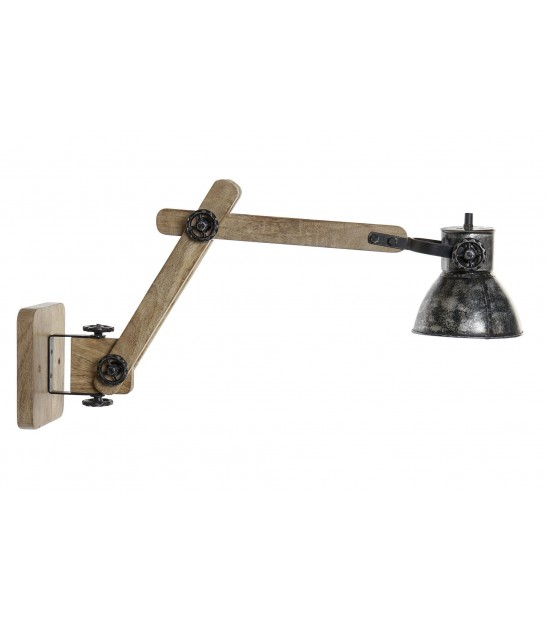Table Lamp Wood Industrial Style