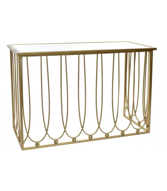 Entrance Console Golden Metal