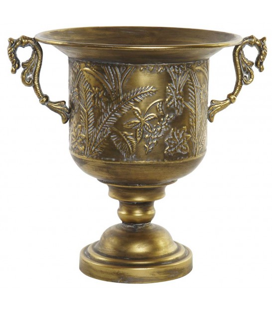Plant Pot Medicis Golden Metal