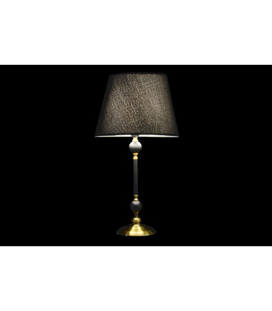 Table Lamp Black and Gold