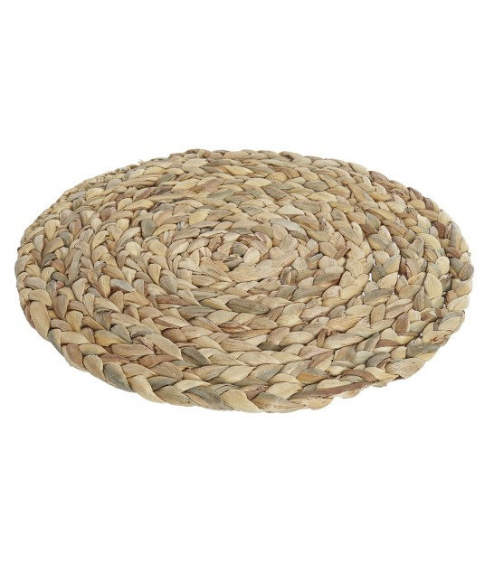 Round Table Set Braided Natural Fiber