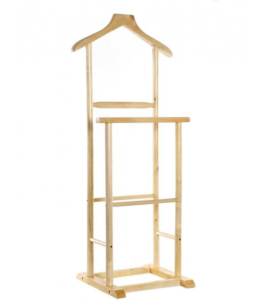 Double Valet Stand Wood