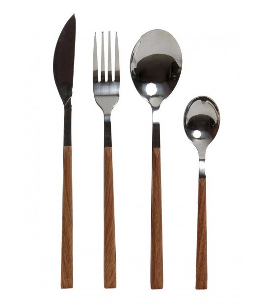 Silver Table Cutlery - 16 Pieces
