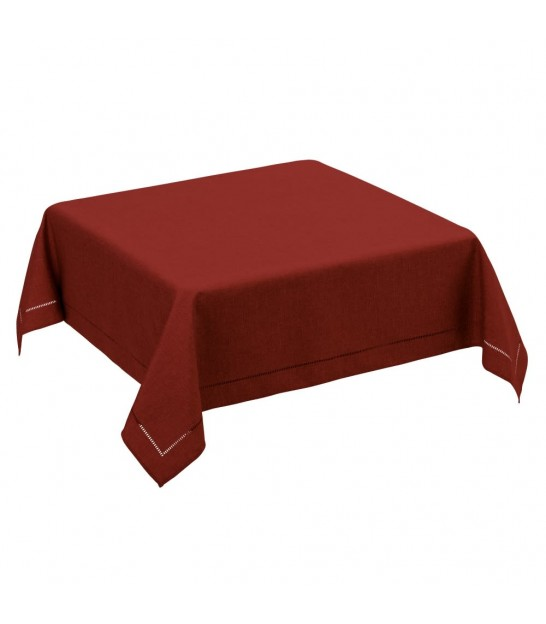 Red Tablecloth - 150x150cm