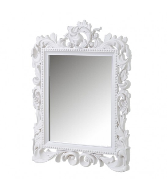 Rectangular Wall Mirror White - 40.8x50.8cm