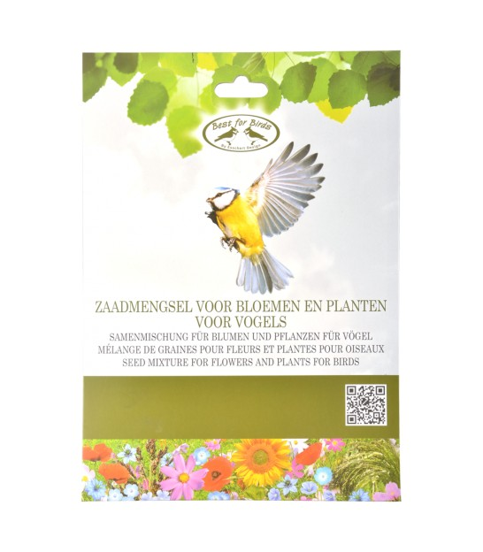 Seed for flowers that attract birds