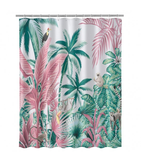 Shower Curtain Polyester Multicolore for Kids - 180x200cm