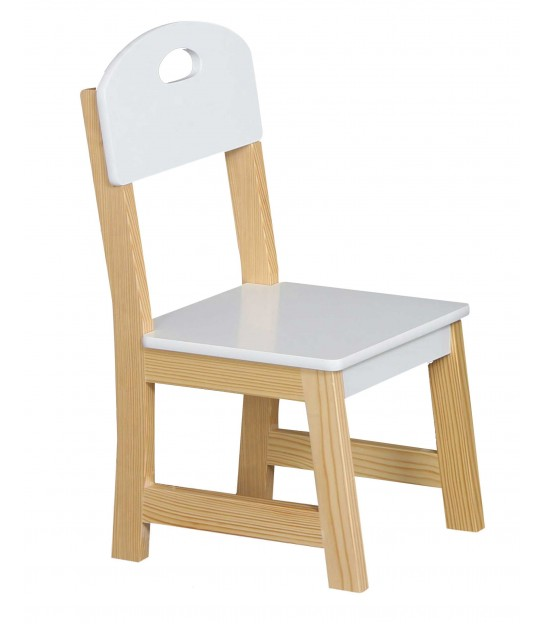 Kid Chair White MDF