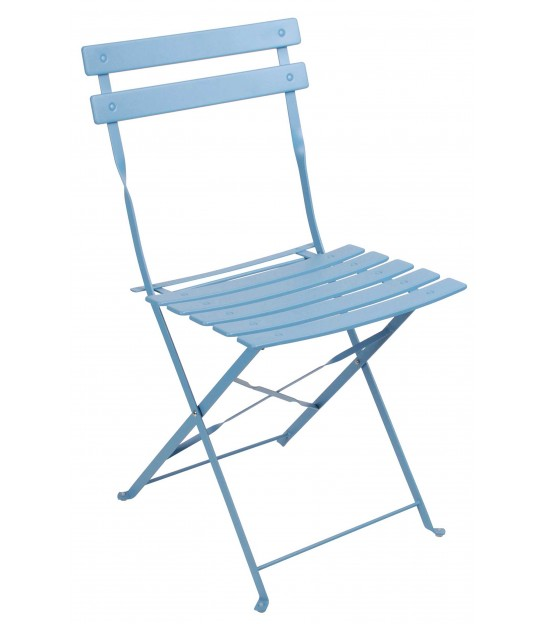 Blue Garden Chair Foldable