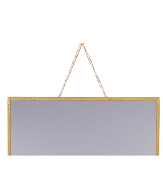 Octogonal Wall Mirror Gold