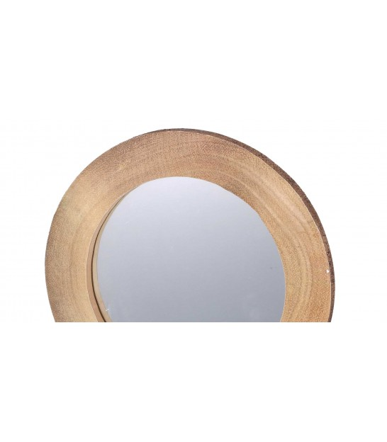 Round Wall Mirror Gold - D30cm