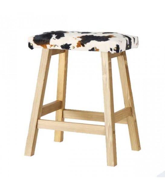 Stool Wood and Polyester